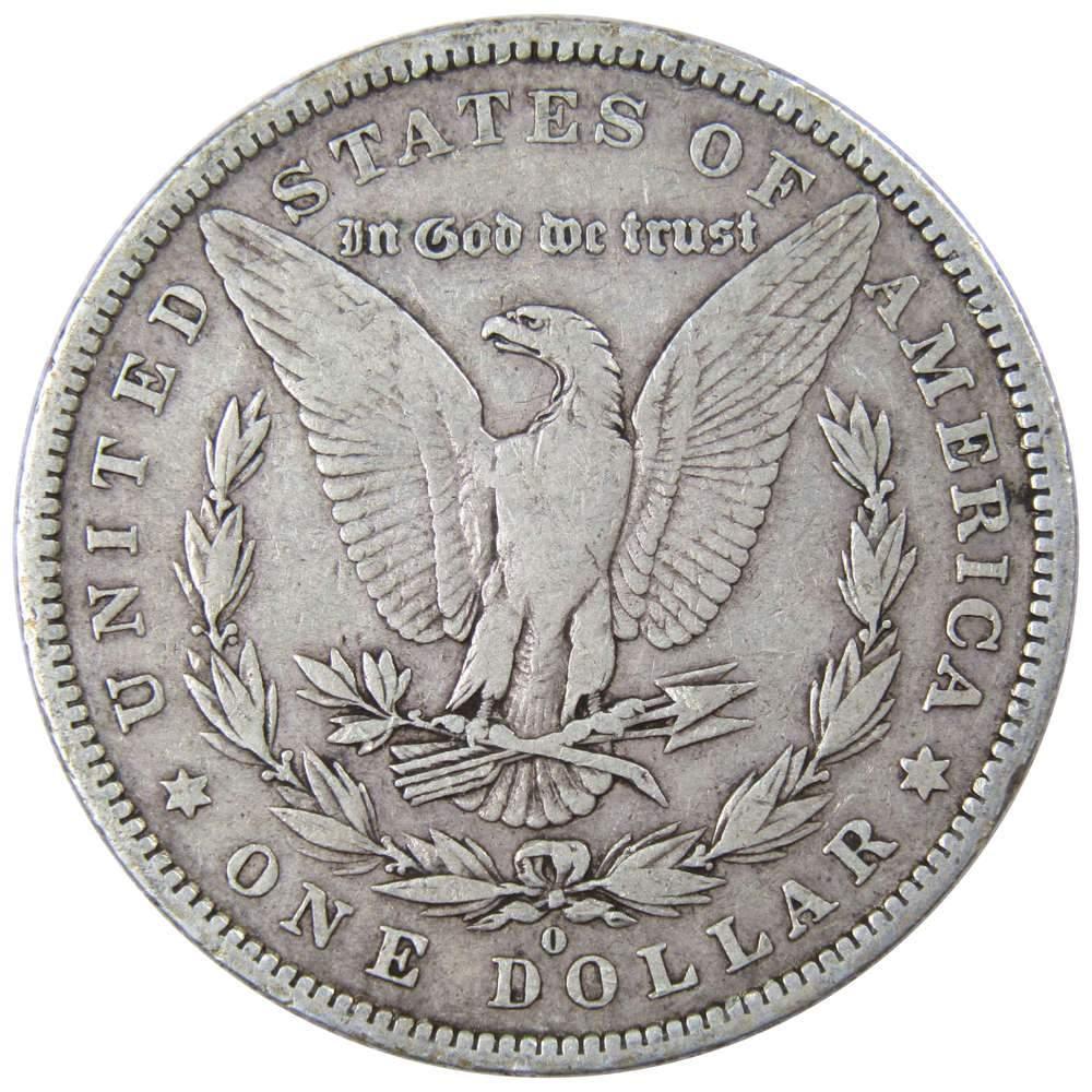 1881 O Morgan Silver Dollar $1 Fine