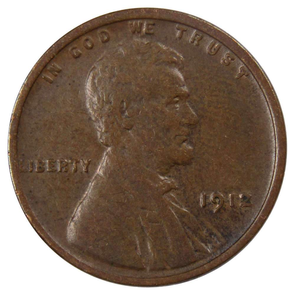 1912 S /& D Lincoln Wheat Cent Two Coin Set Good or Better Quality