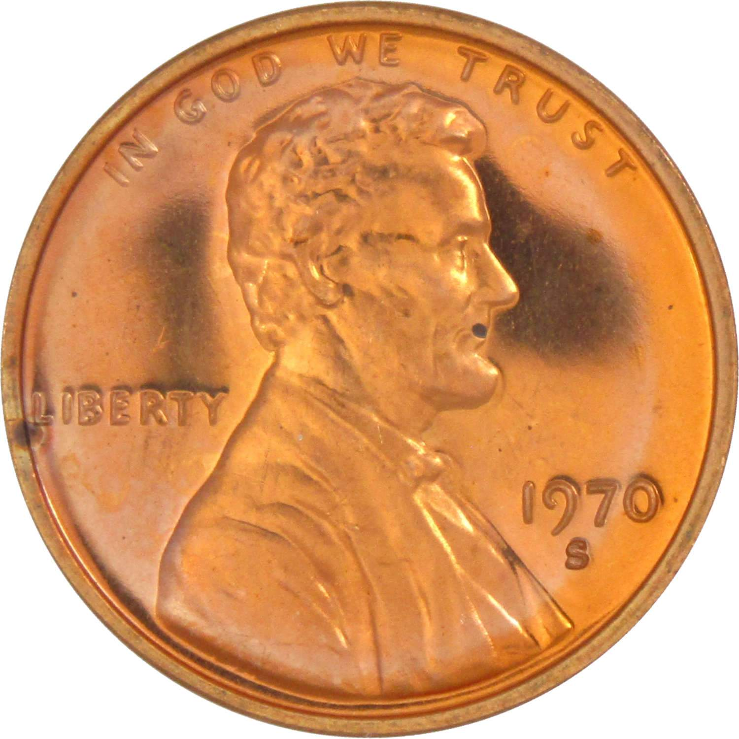 1970-S PROOF LINCOLN CENT