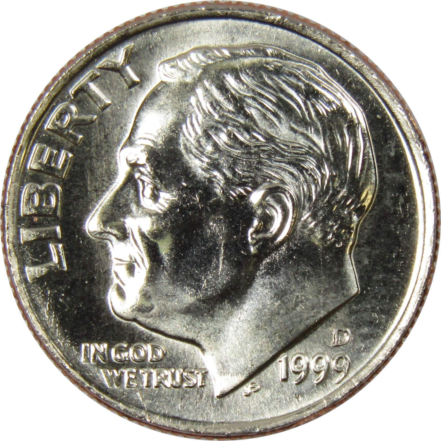 2008 P 10c Roosevelt Dime US Coin BU Uncirculated Mint State