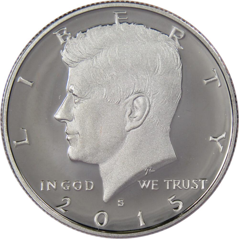 2015 D Kennedy Half Dollar CN-Clad Choice BU US Coin