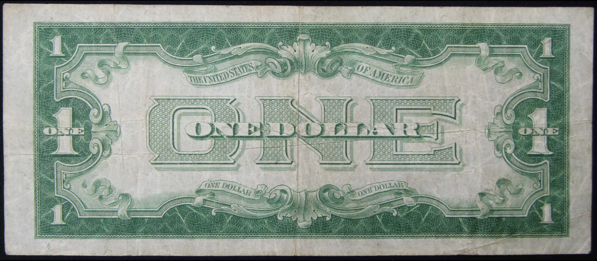1934 $1 Silver Certificate Funnyback Small Size Currency VG Very Good