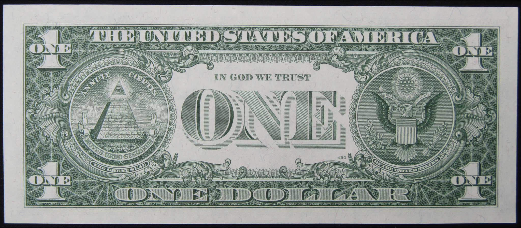 CHOICE CRISP UNCIRCULATED $1 1957-A Non Star Type Note