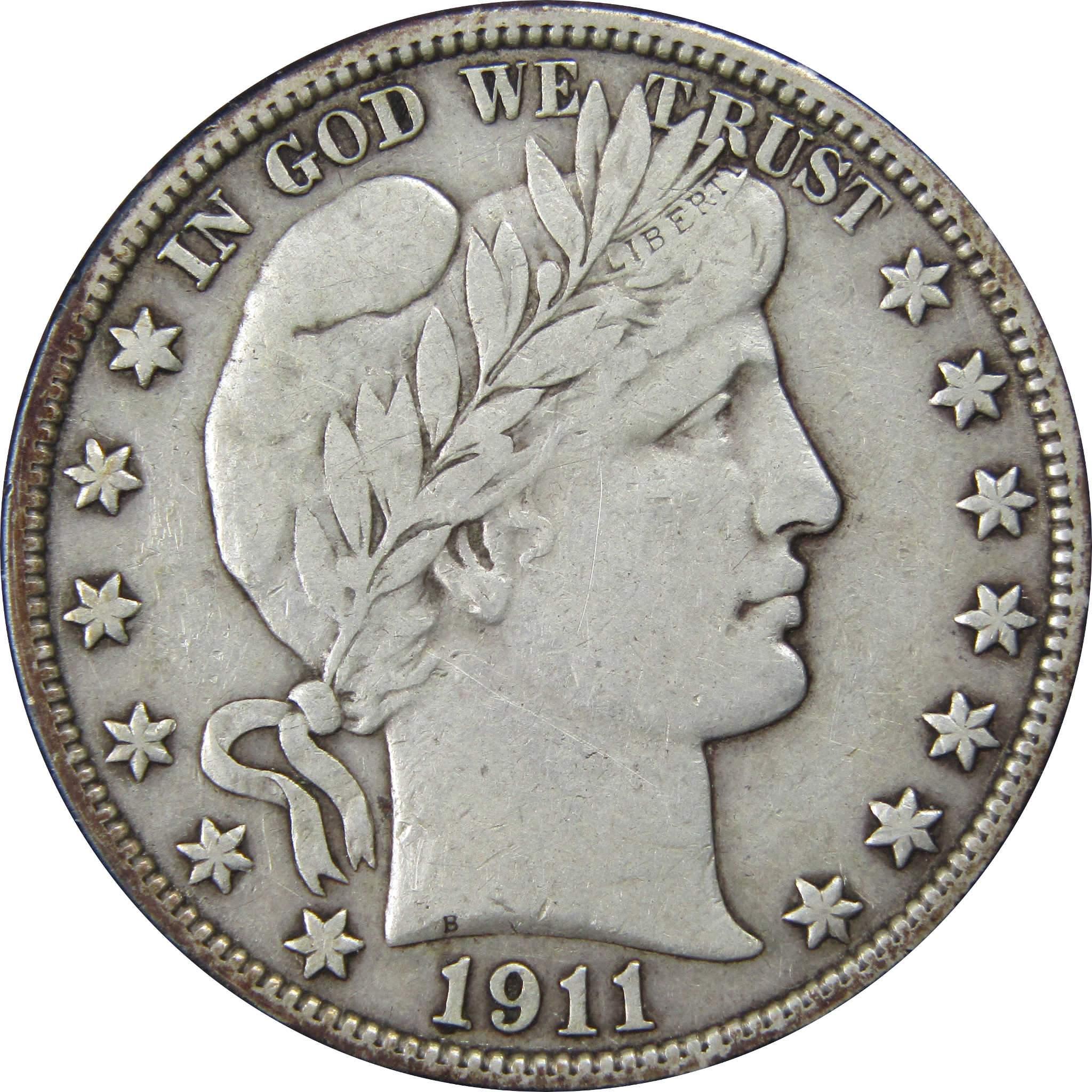 Silver Half Dollar Us Coin Vf Very Fine