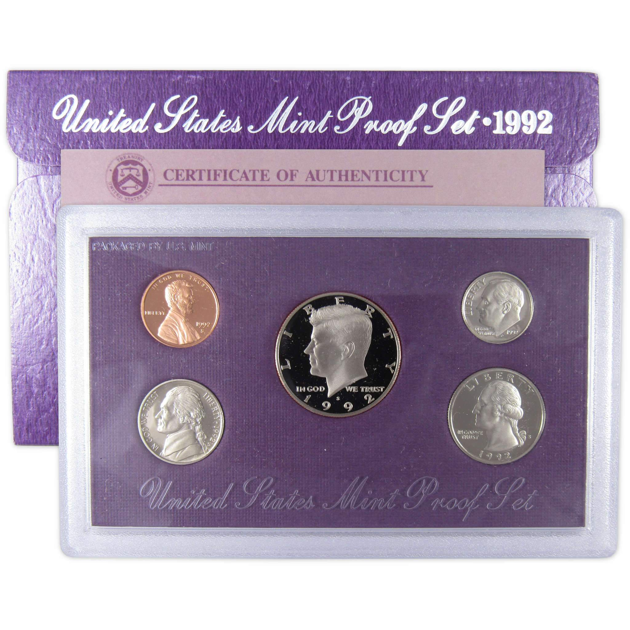 1992 S Uncirculated United States US Mint Proof Set