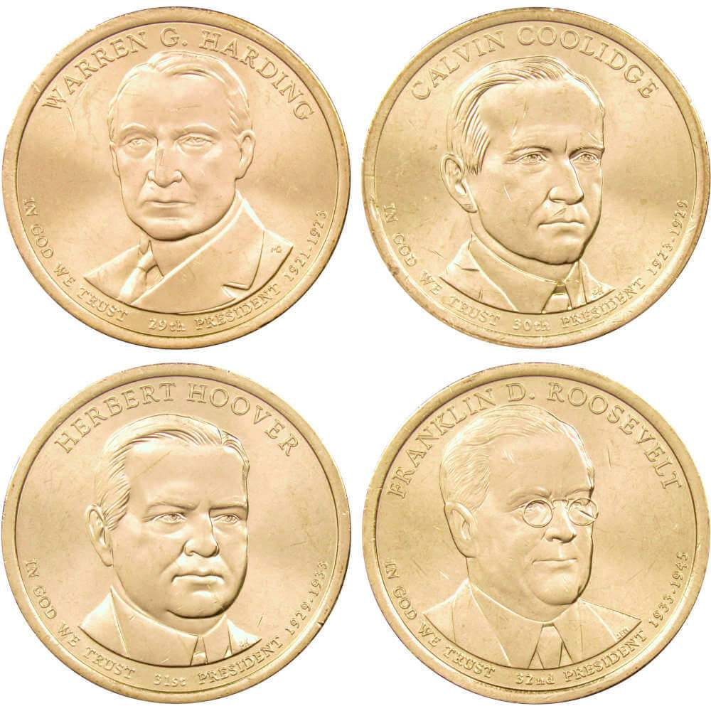 US President Dollars Uncirculated YOU SELECT the  PRESIDENTS P or D