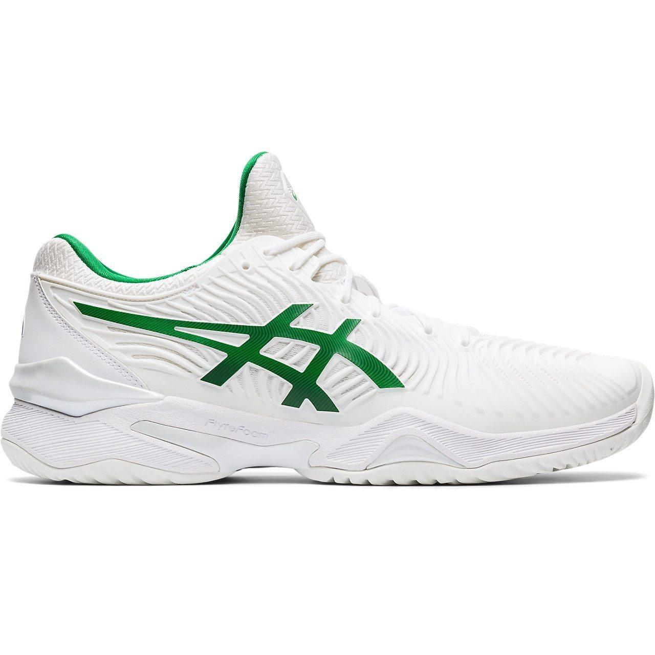 Asics-Court-FF-2-Novak-Djokovic-Men-039-s-Tennis-Shoes-Sneakers-White-Green thumbnail 8