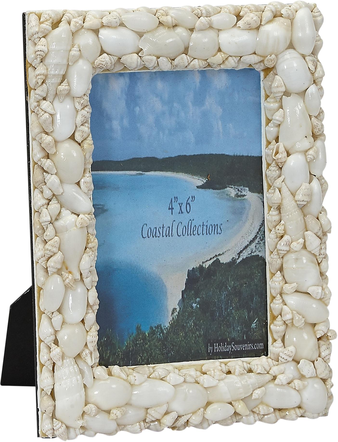 Seashells Picture Frame 4 x 6