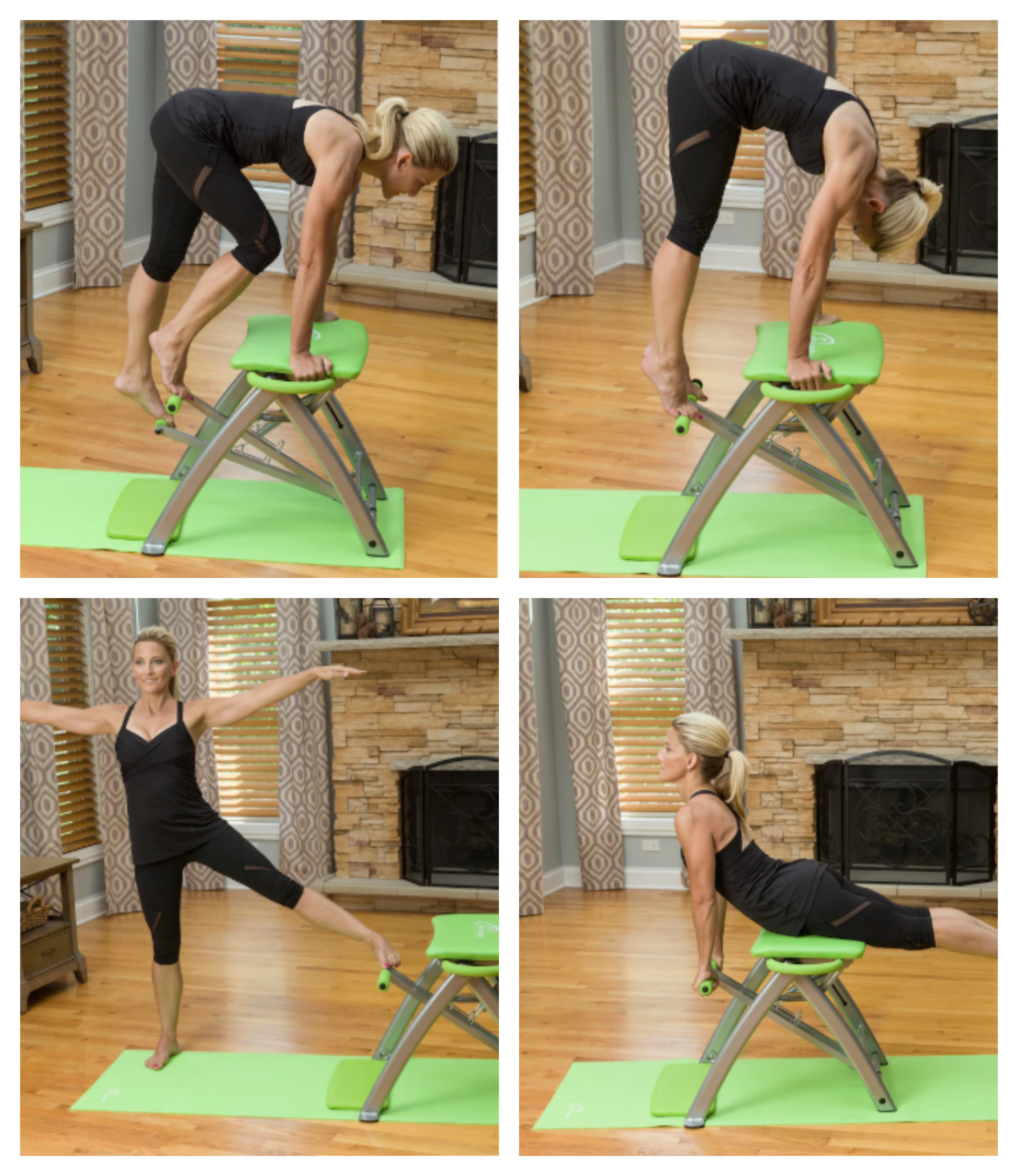 Fitness Beach Dvd: NEW, Pilates PRO Chair With Sculpting Handles And Workout