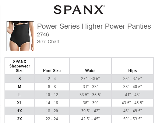 130e38755b SPANX Power Series Higher Power Panties (2746)