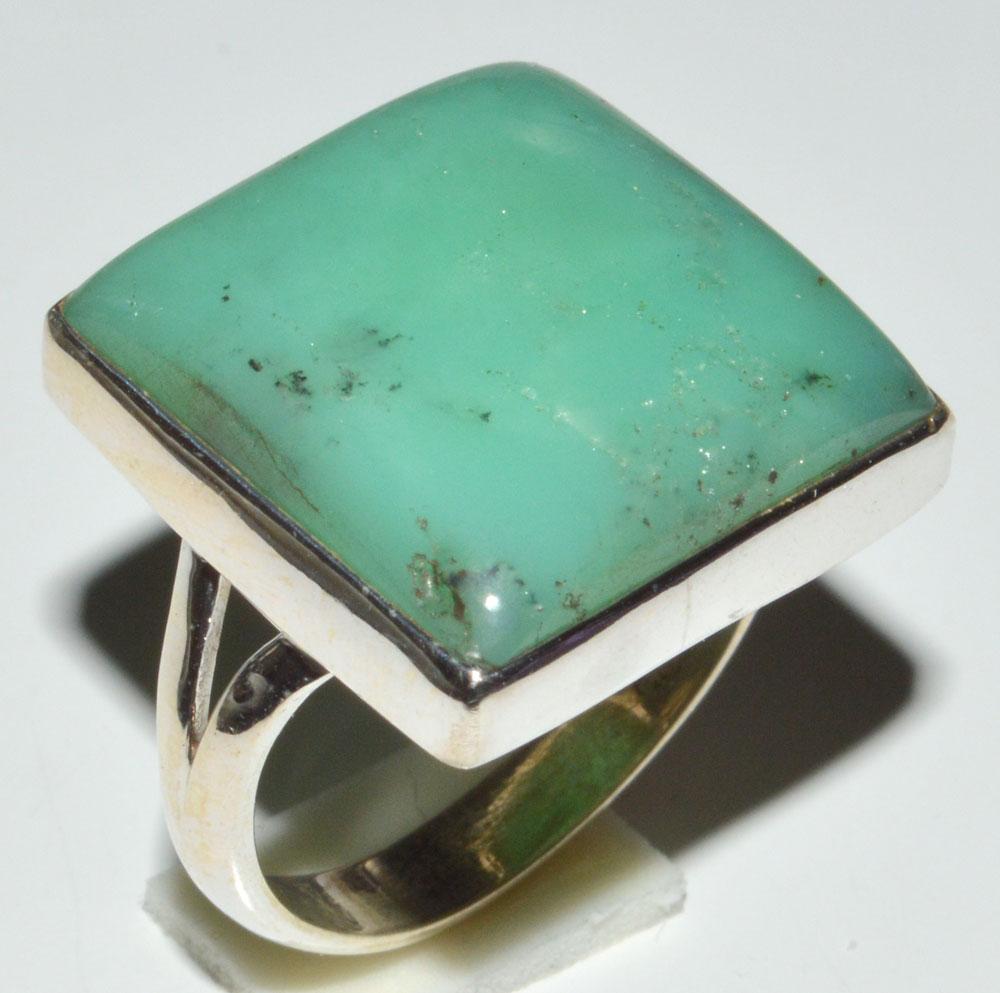 925 Silver Ring Handmade Ring Lemon Chrysoprase Gemstone Jewelry Solid SIlver Ring Lemon-Chrysoprase Ring Gemstone Ring