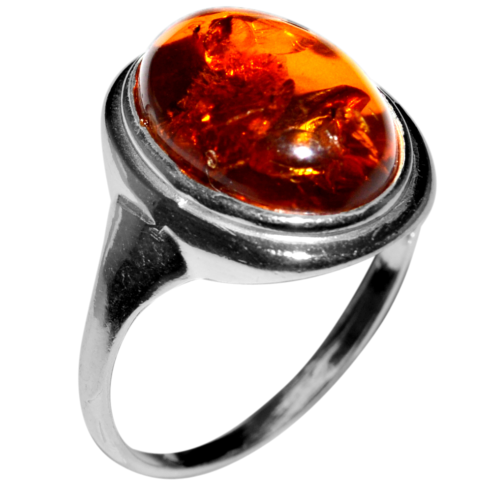 2-65g-Authentic-Baltic-Amber-925-Sterling-Silver-Ring-Jewelry-N-A7035 thumbnail 16