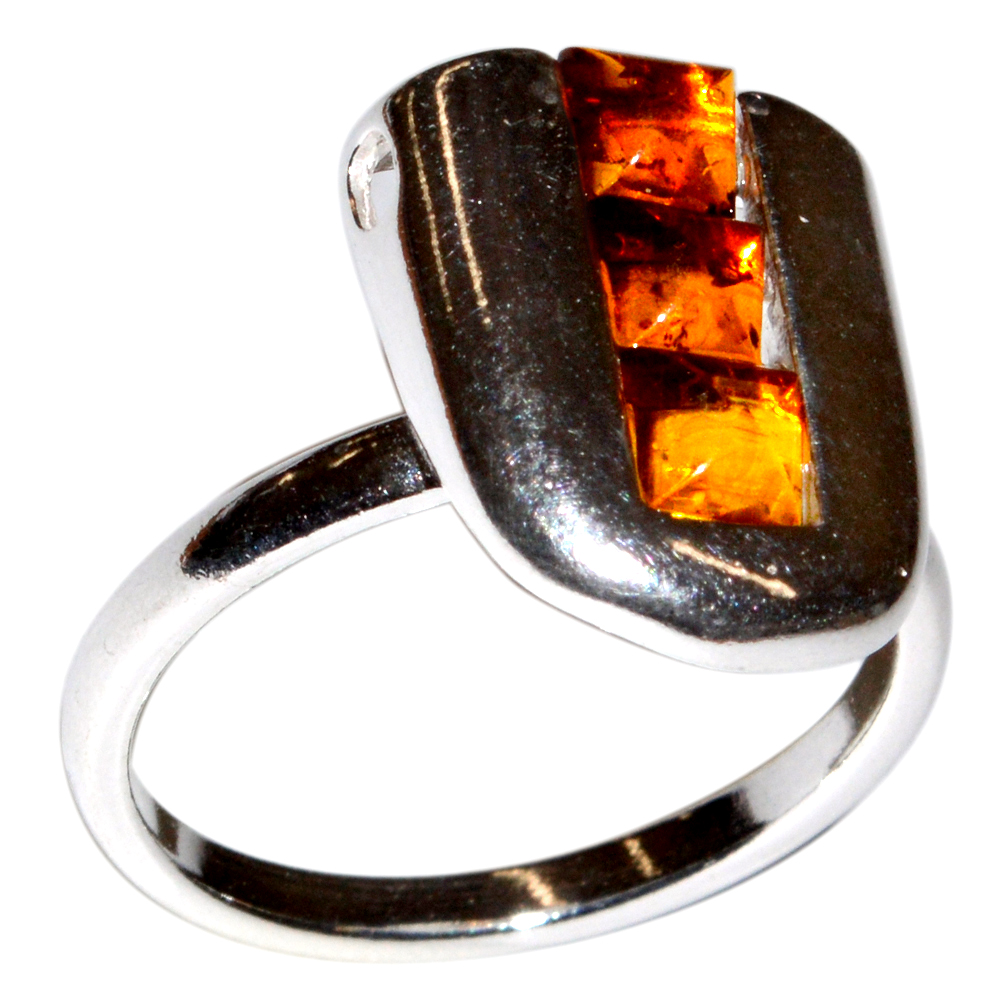 3g-Authentic-Baltic-Amber-925-Sterling-Silver-Ring-Jewelry-N-A7127 thumbnail 11