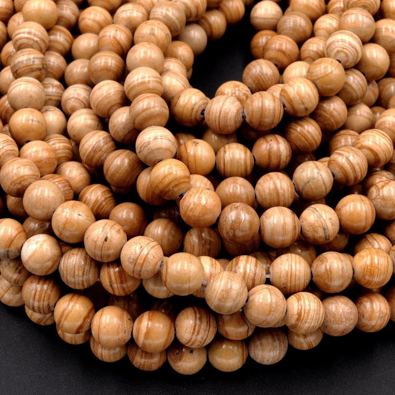 10MM Natural Red Snake Skin Jasper Round Ball Beads Gemstone 15.5 Full Strand For Jewelry