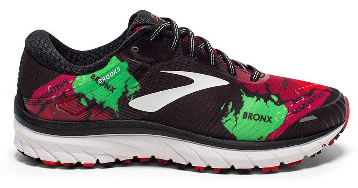 1f38c7eae26b1 Brooks Adrenaline GTS 18~ NYC Marathon Men s Stability Running ~Blk ...