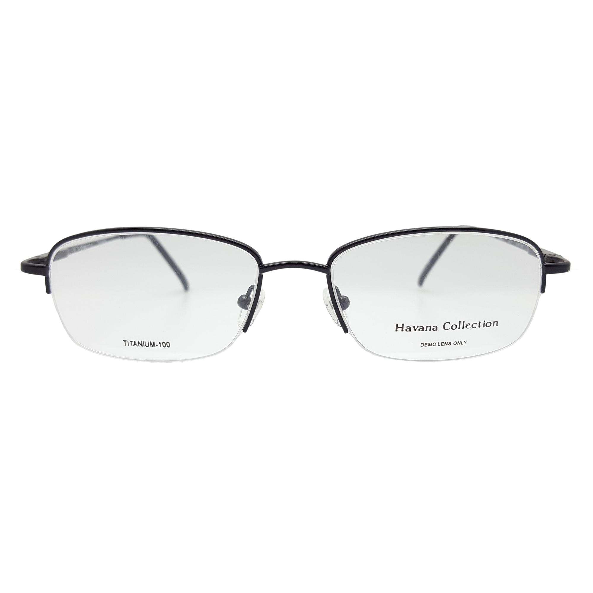 b7e8fa2541d Details about Havana Collection Men s Casino Eyeglasses Frames (Black