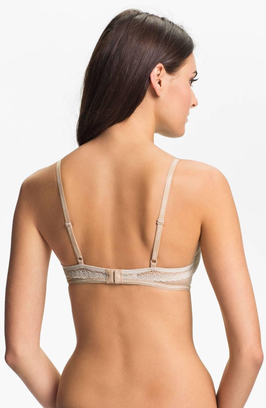 b4545037419 Calvin Klein Women s  Perfectly Fit Sexy Signature  Underwire Bra (Skin