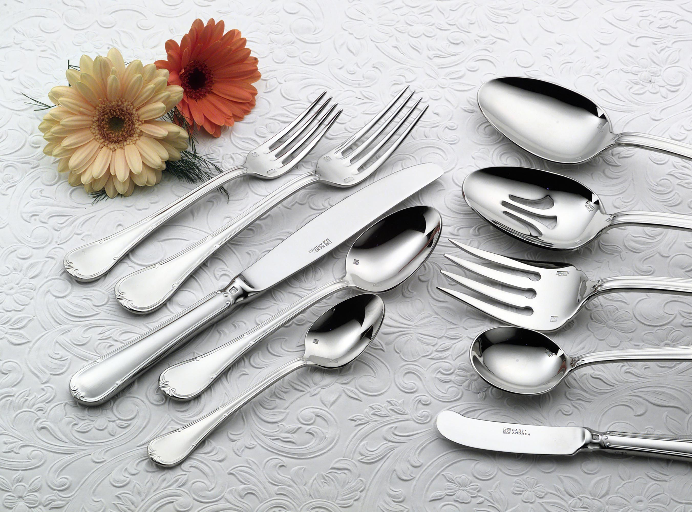 Sant Andrea 18 10 Stainless Steel Donizetti Butter Knives Set Of 12 By Oneida Ebay