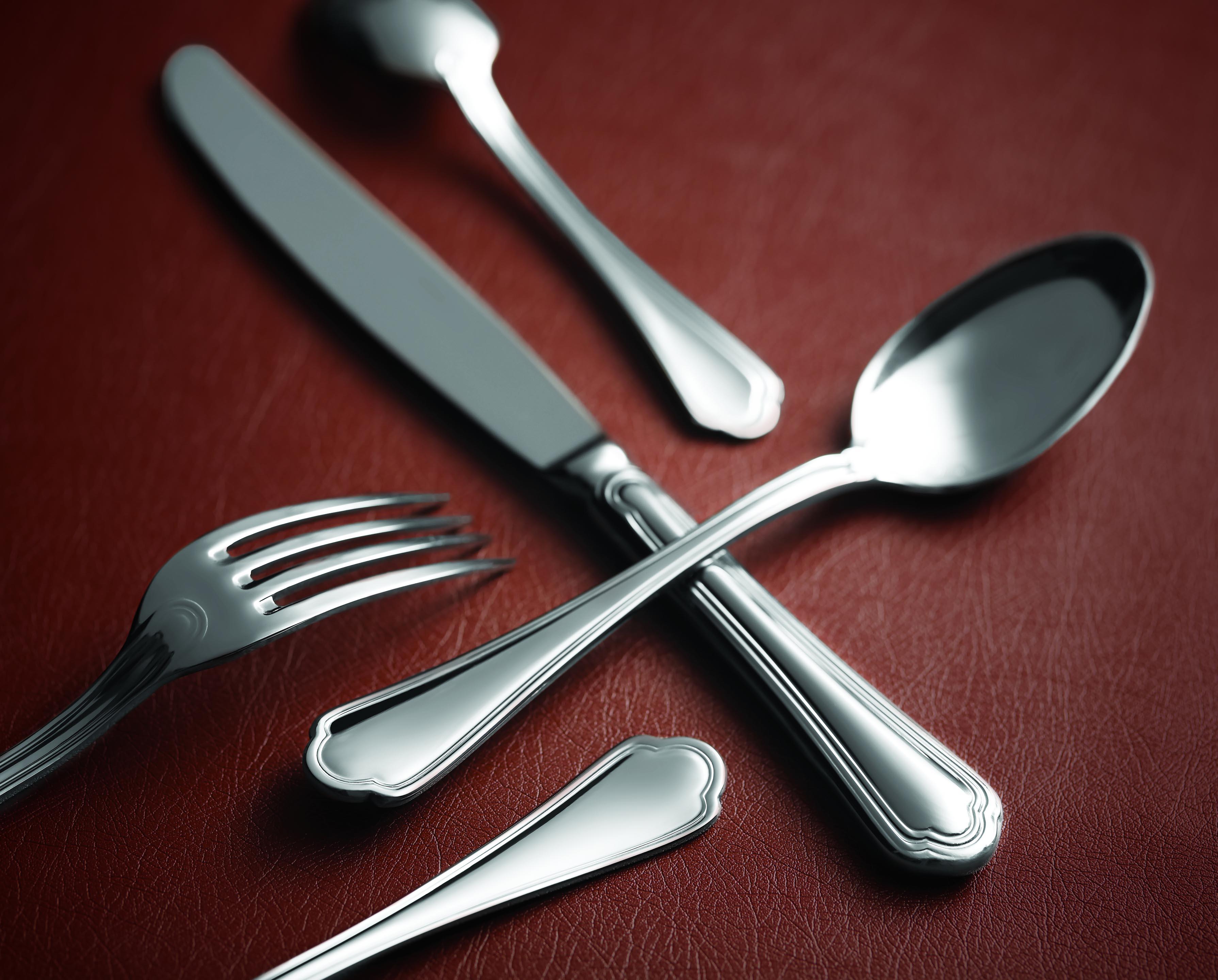 Sant Andrea Silverplate Rossini Table Knives Set Of 12 By Oneida New Flatware Ebay