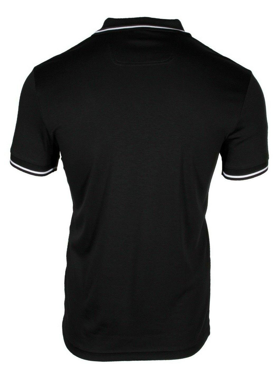 674d30588 HUGO BOSS Paule 1 Men's Short Sleeve Slim Fit Polo Shirt Black ...