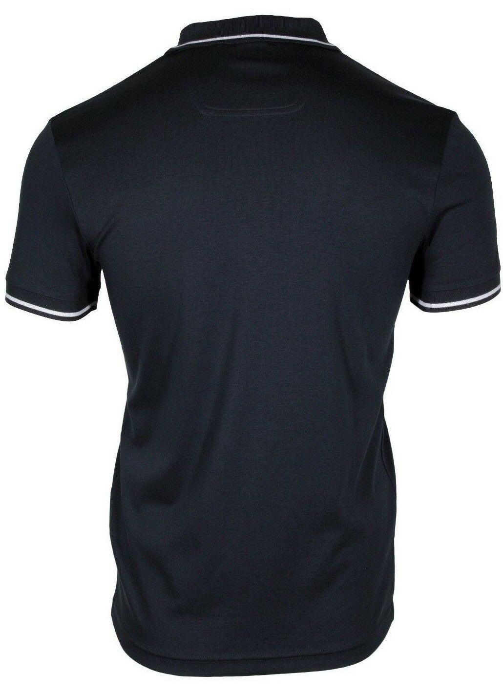 HUGO-BOSS-Paule-1-Men-039-s-Short-Sleeve-Slim-Fit-Polo-Shirt-Navy-50399450-410 thumbnail 6
