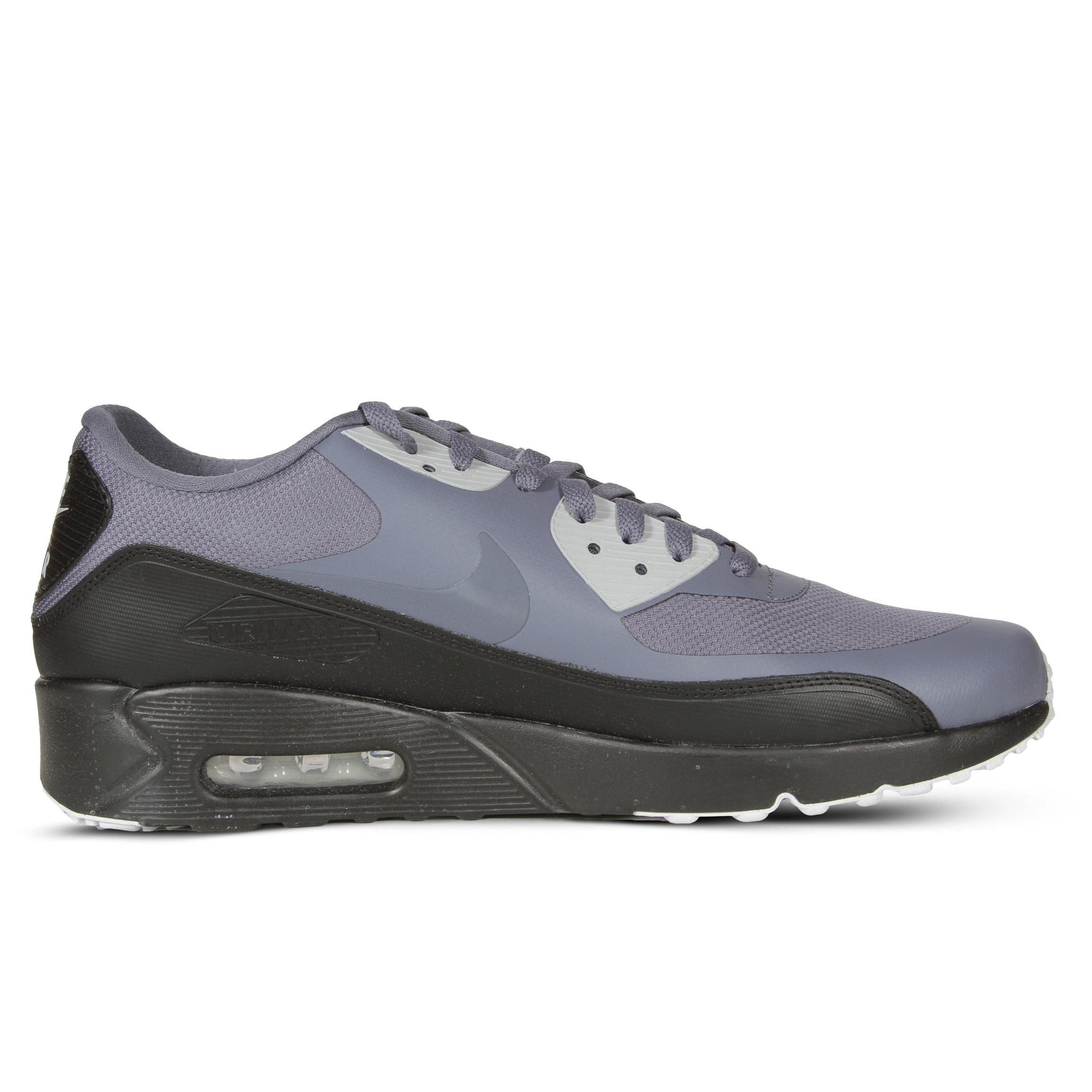 nike air max 90 ultra mens 875695 012 nero di carbonio delle scarpe da corsa