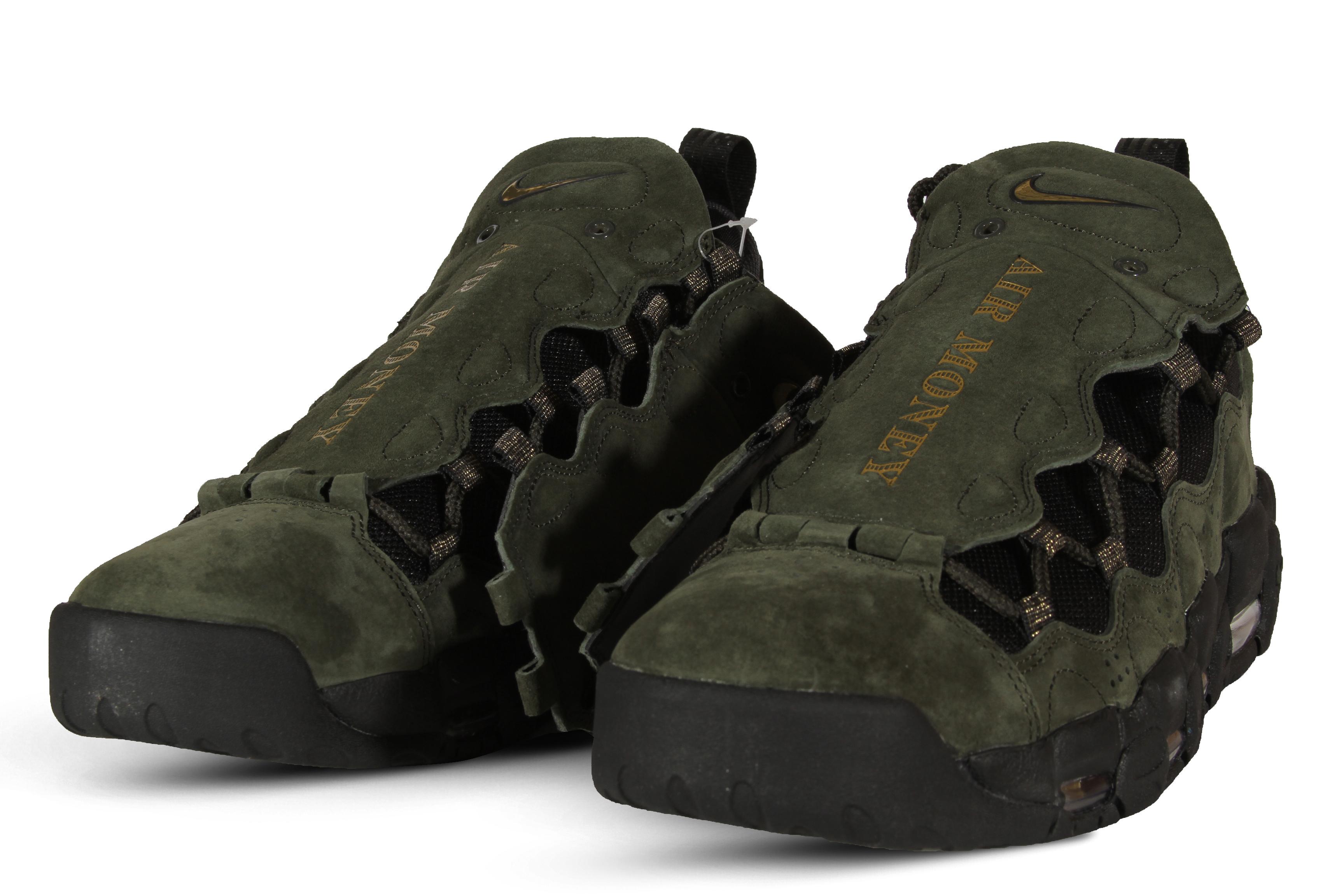 Description. Description. Men's Nike Air More Money QS Basketball Shoes ...