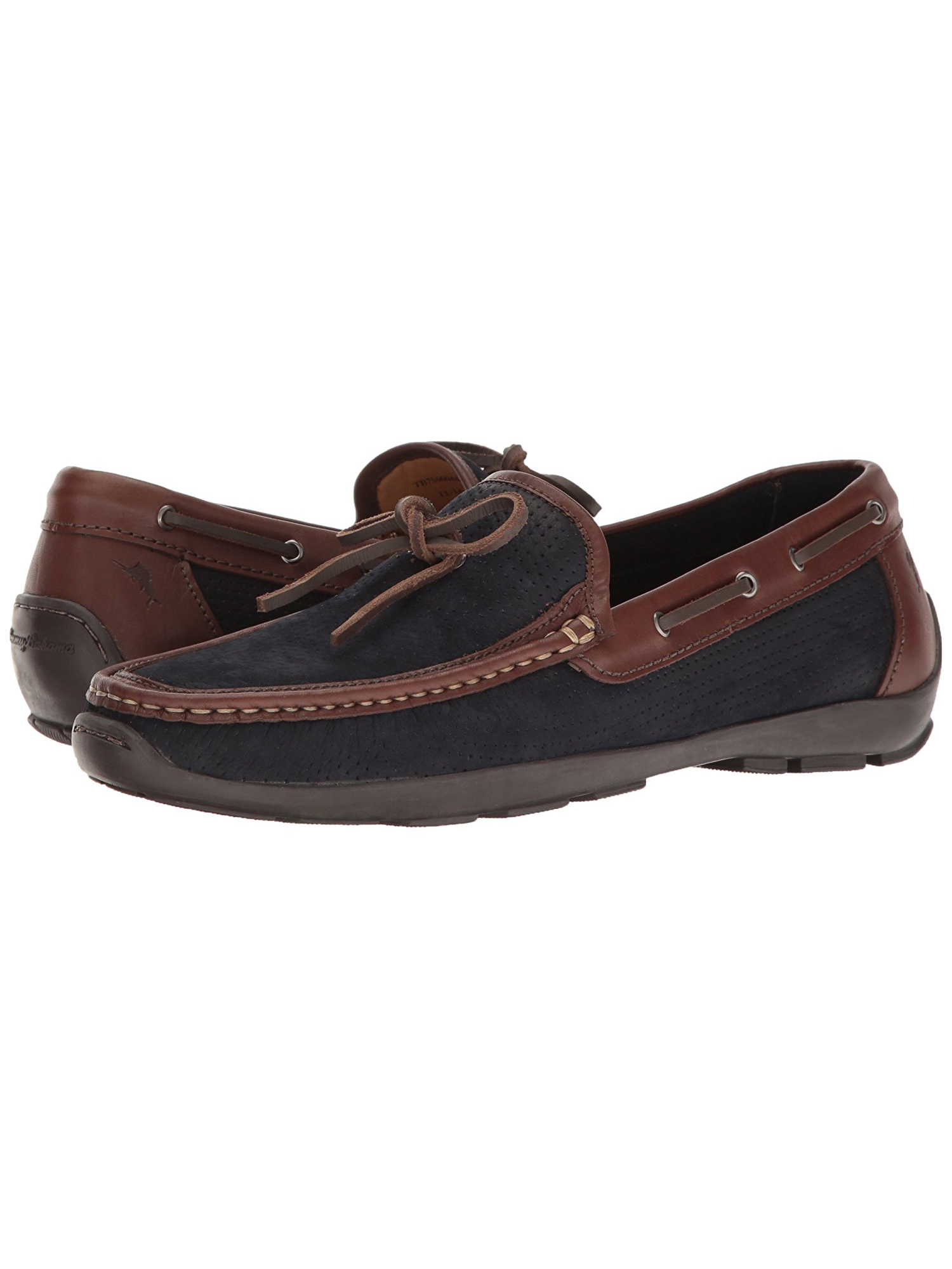 30fc81850380 Tommy Bahama Men s Odinn Wide Width Slip-on Moccasin Boat Shoe