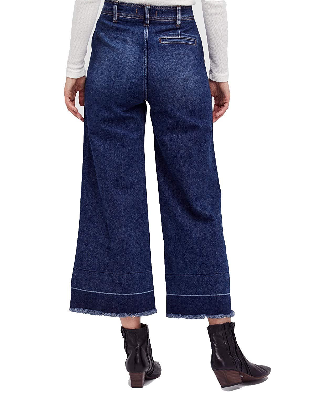 Beskåret Womens Free Wide Jeans People 8fRnwq5E