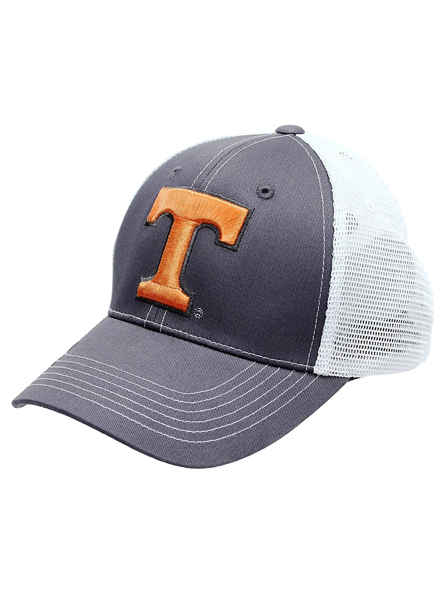 hot sale online 7ac08 b596e australia tennessee volunteers snapback hat adjustable gray mesh cap ncaa  ebay 5031e d66a0
