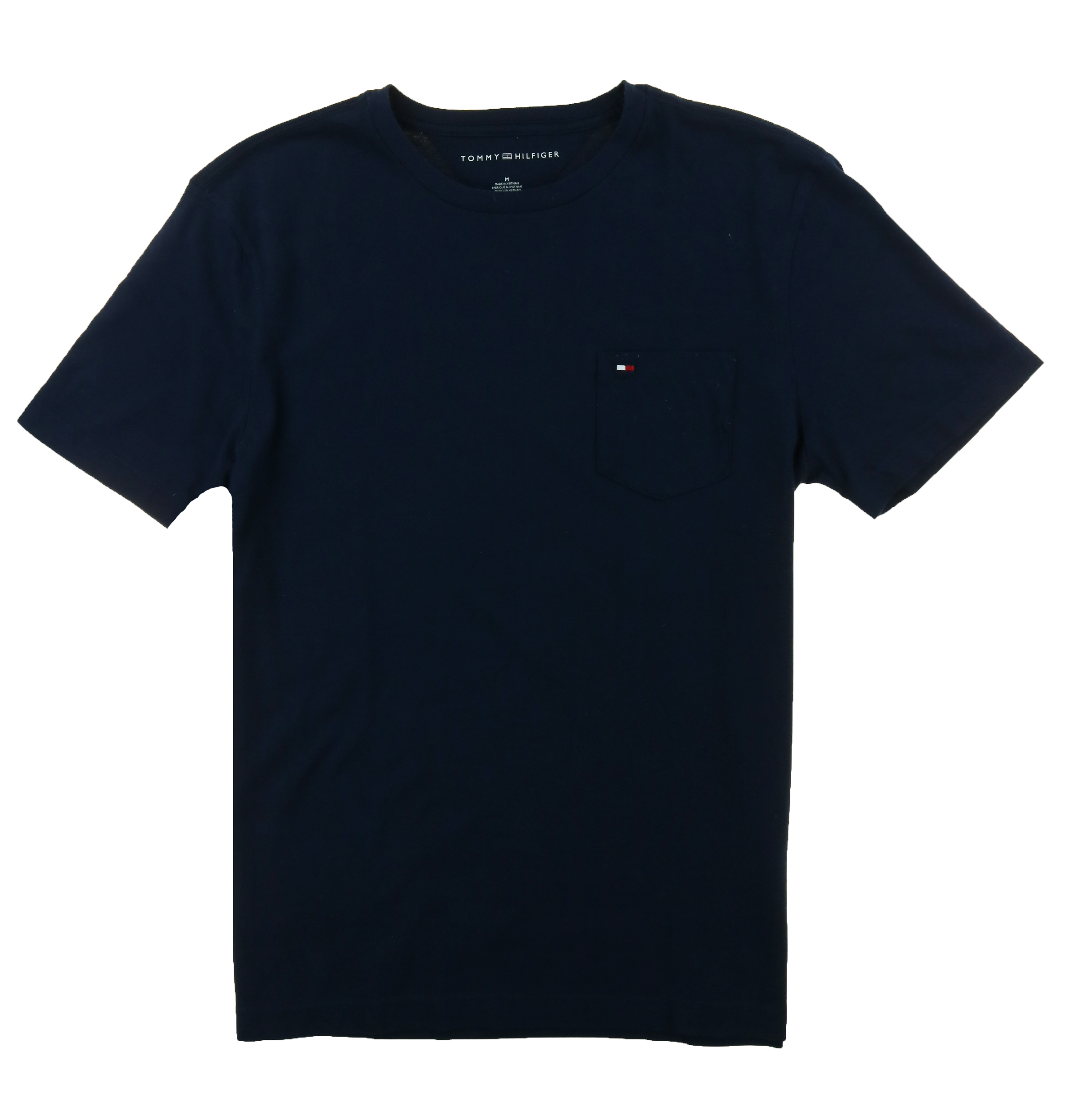 Tommy-Hilfiger-Mens-Crew-Neck-Pocket-T-shirt thumbnail 8