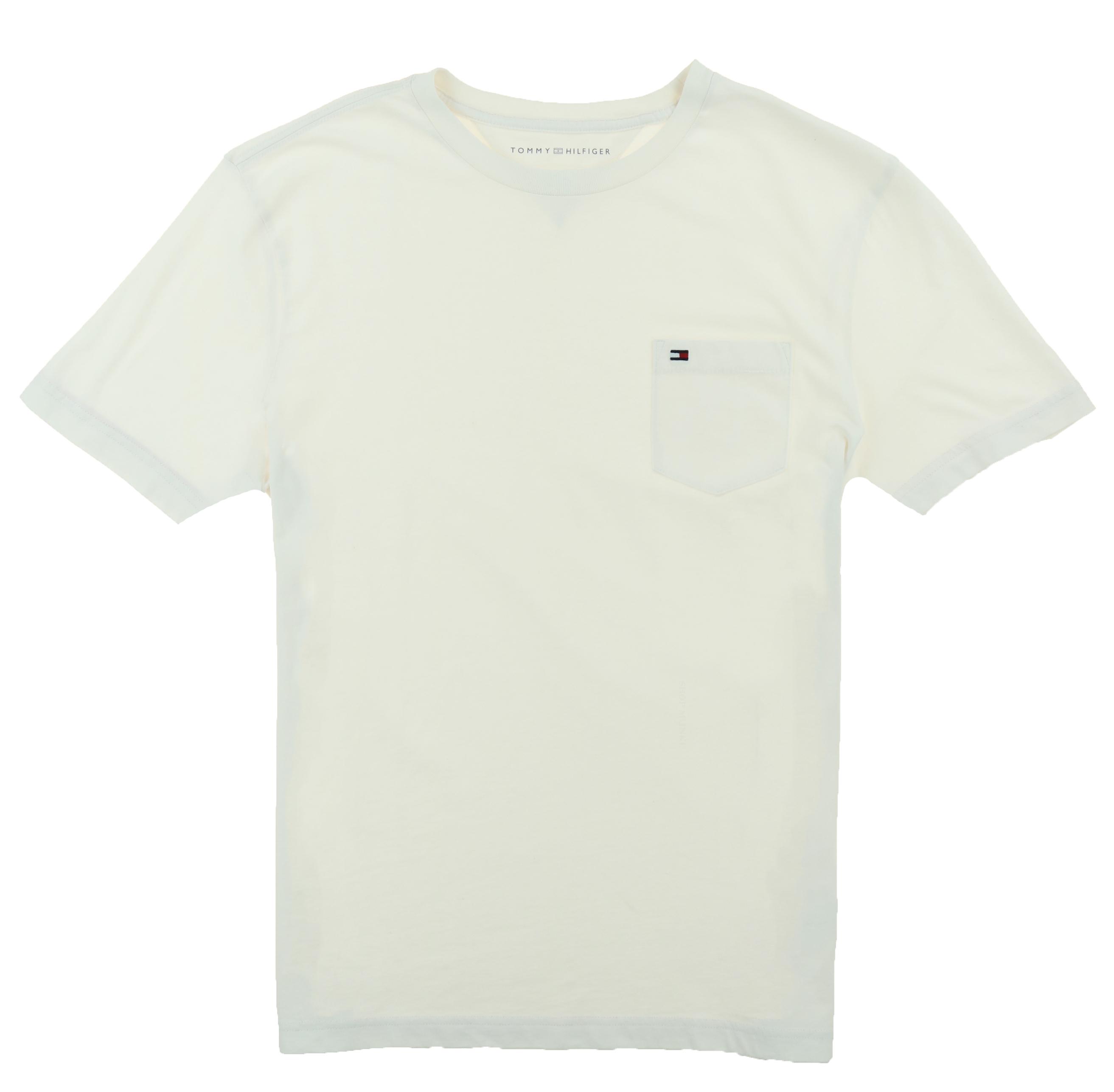 Tommy-Hilfiger-Mens-Crew-Neck-Pocket-T-shirt thumbnail 4