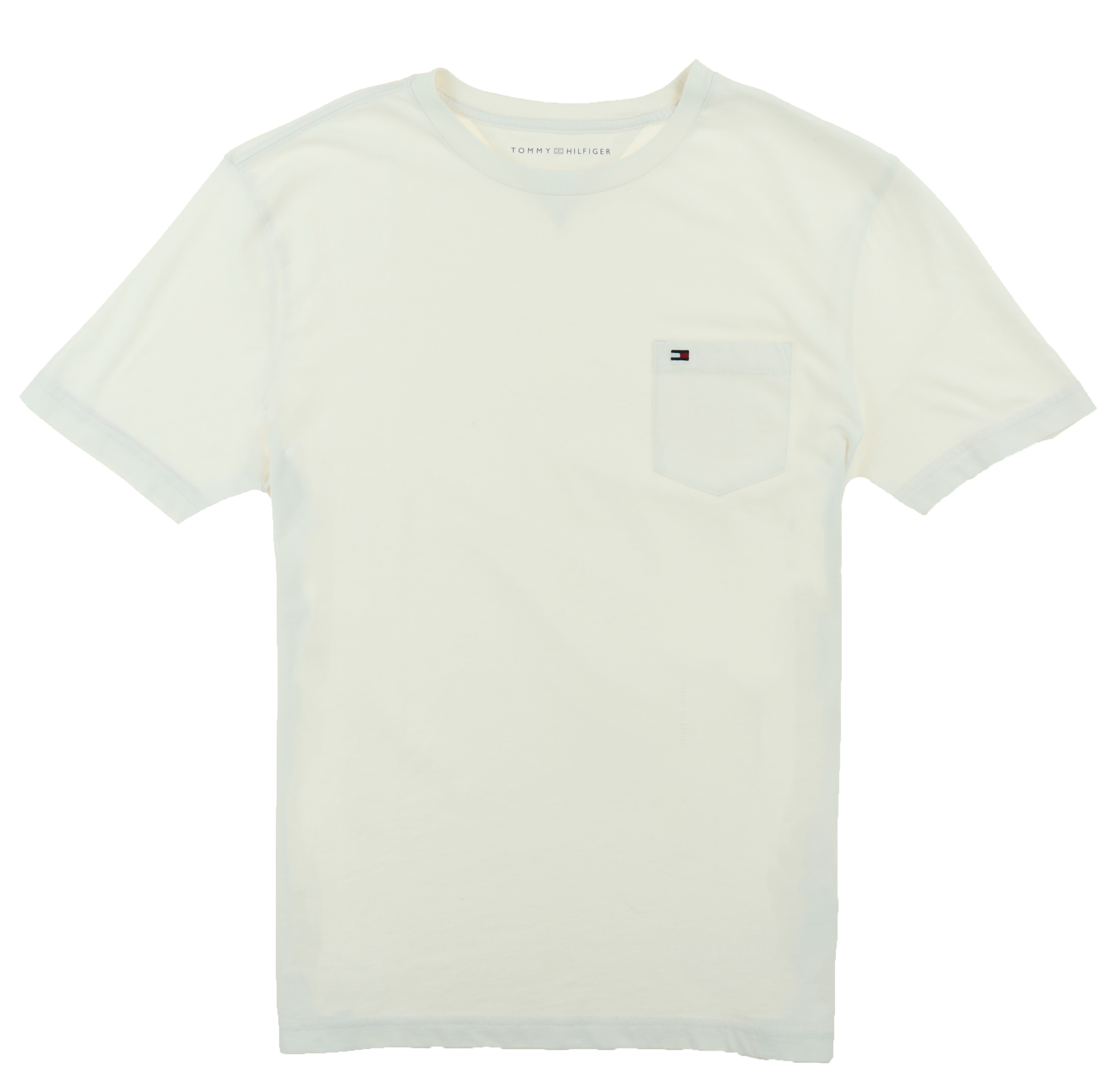 Tommy-Hilfiger-Mens-Crew-Neck-Pocket-T-shirt thumbnail 3