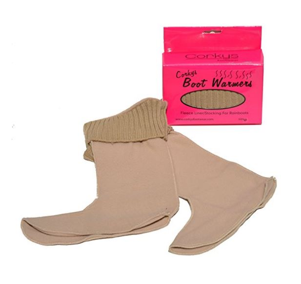 Corkys-Womens-Fashion-Fleece-Boot-Warmer-Sock-Rainboot-Cold-Weather-Boot-Liners thumbnail 5