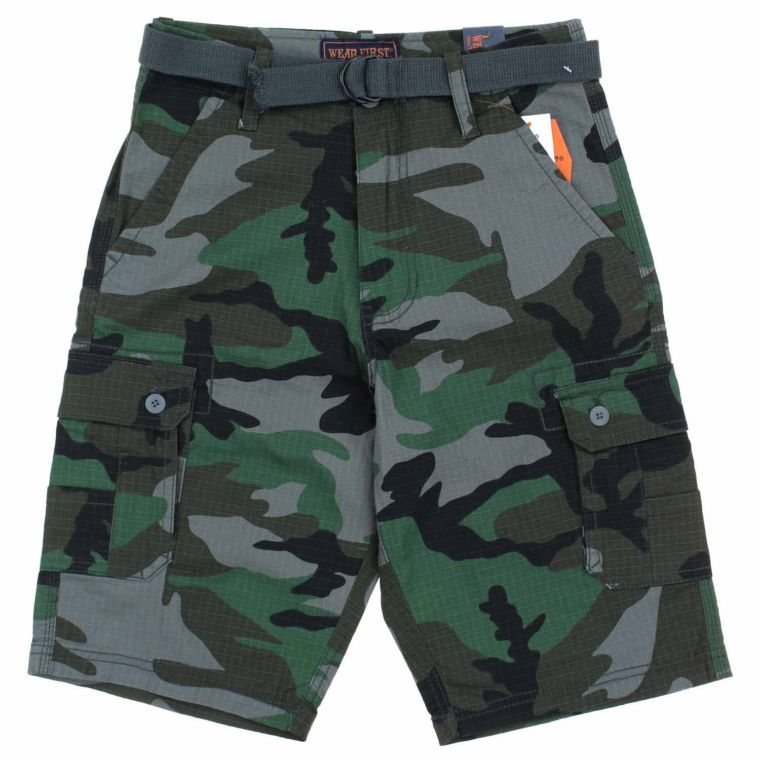 f2378e7d74 Wearfirst-Boys-Belted-Cargo-Shorts thumbnail 7