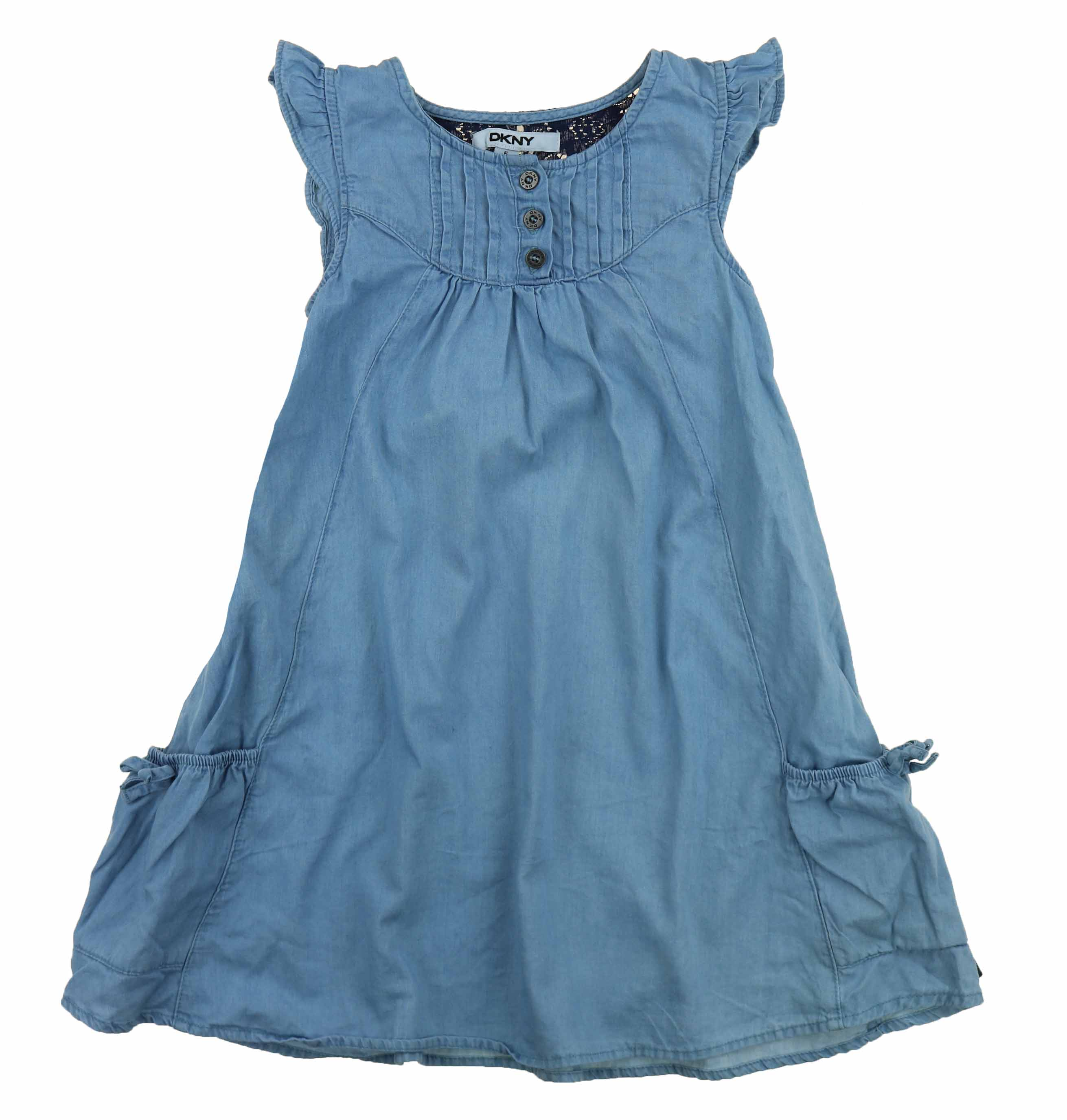 05d0e5ed26f DKNY-Girls-Denim-Dress-or-Romper thumbnail 3