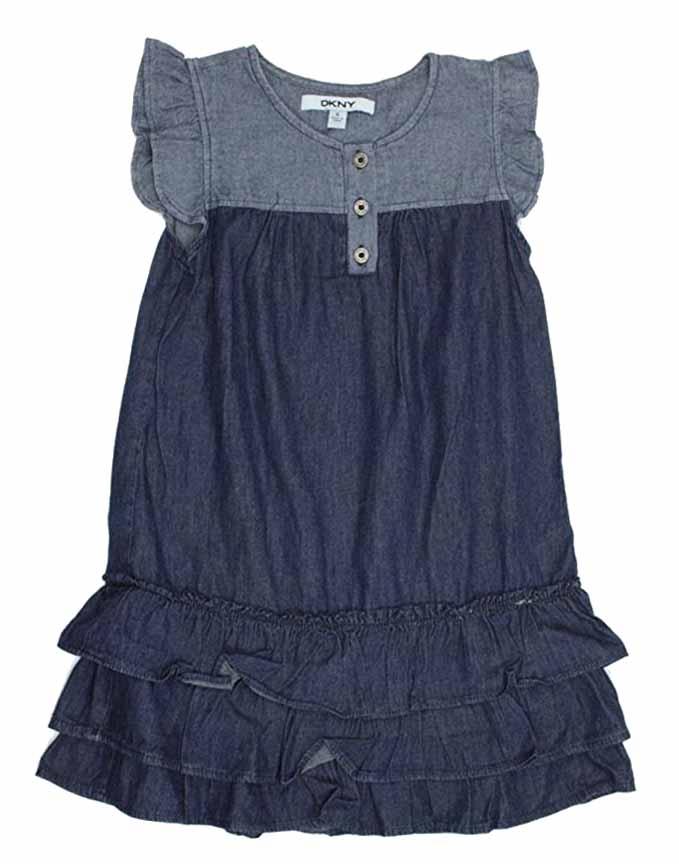5e9ffe95970 DKNY-Girls-Denim-Dress-or-Romper thumbnail 32