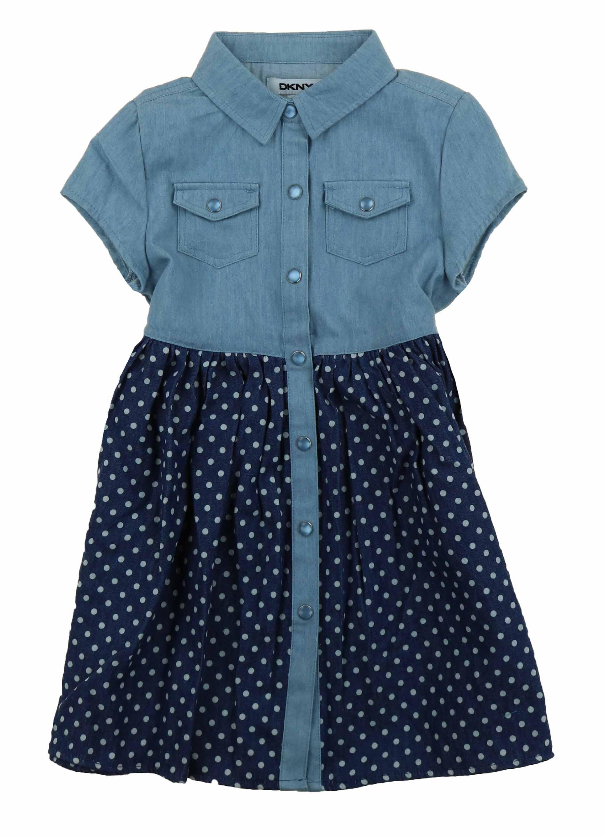 6304aadb6ab DKNY-Girls-Denim-Dress-or-Romper thumbnail 41
