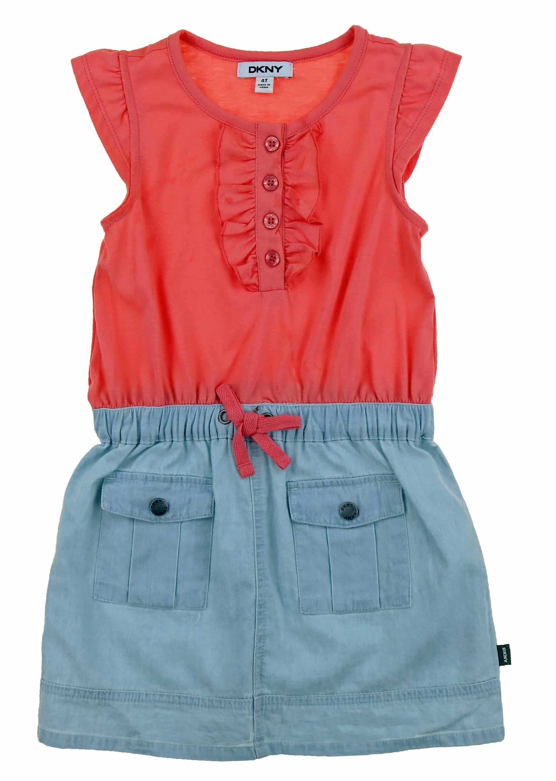 1667119a7ef DKNY-Girls-Denim-Dress-or-Romper thumbnail 17