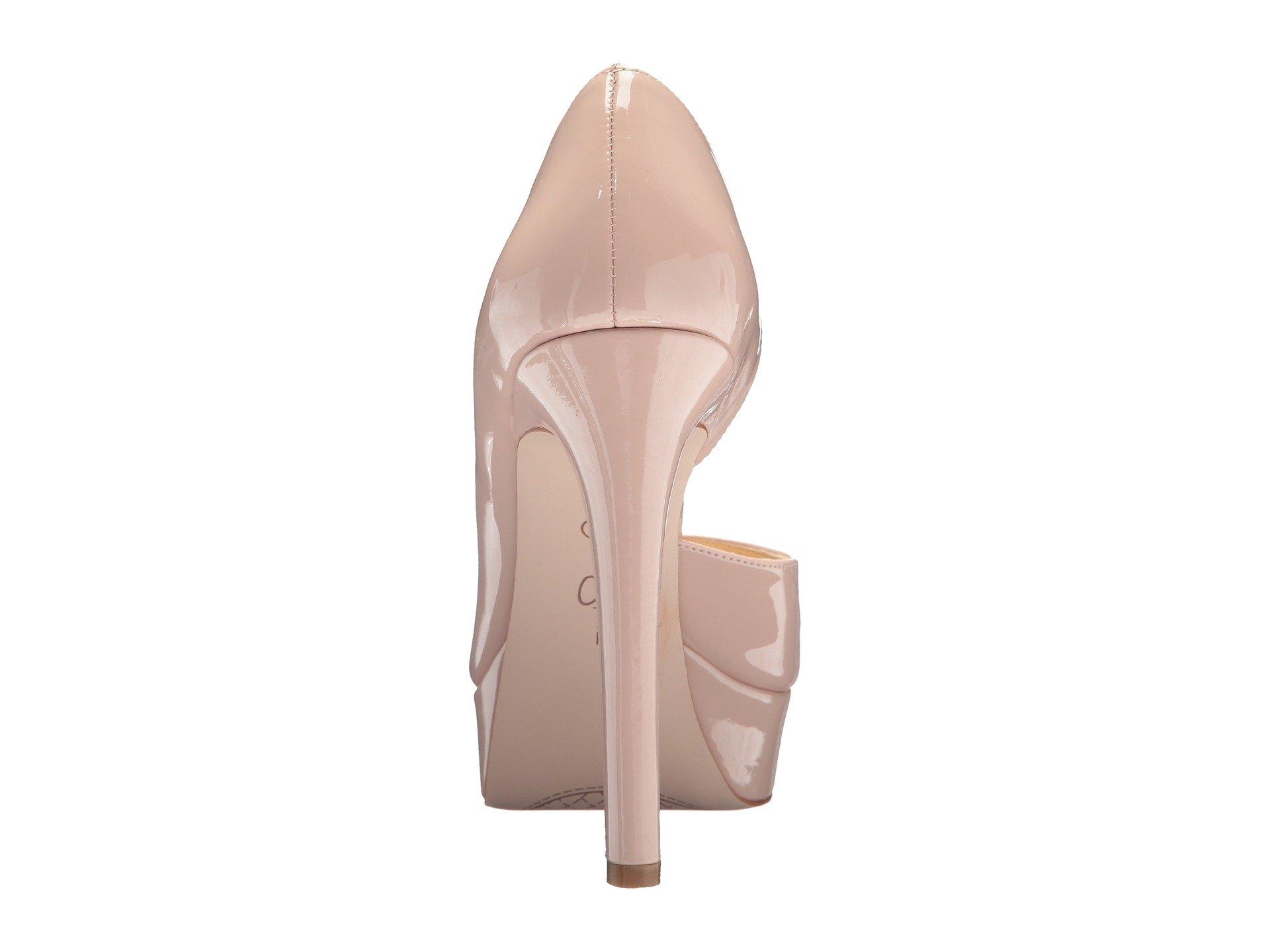 Jessica-Simpson-Martella-d-039-Orsay-Peep-Toe-Platform-Pumps thumbnail 5