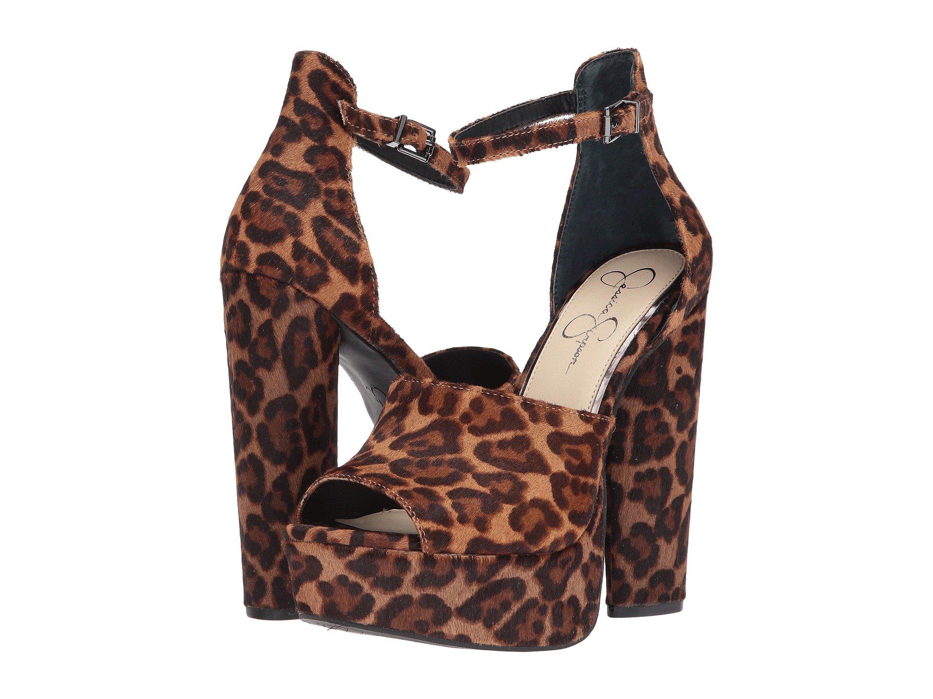 jessica simpson leopard pumps