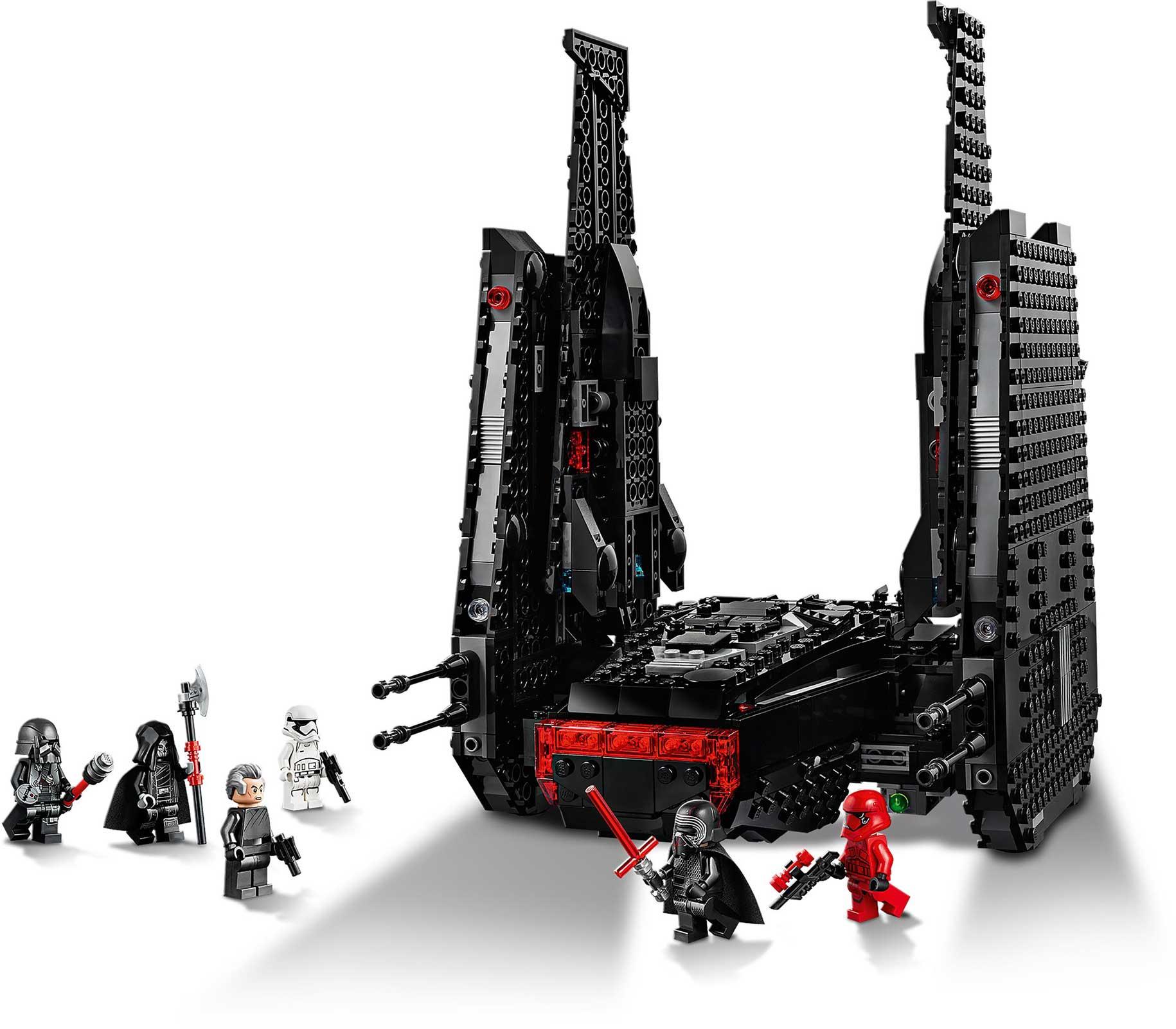 Lego Star Wars Kylo Ren S Shuttle Building Kit 1005 Pieces Ebay