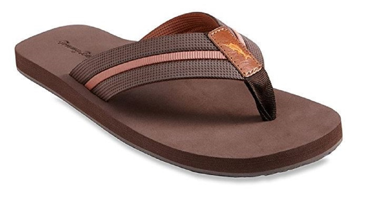 1077e56c8292b Tommy Bahama Men s Taheeti Sandals 12 M DK Brown. About this product.  Picture 1 of 5  Picture 2 of 5 ...