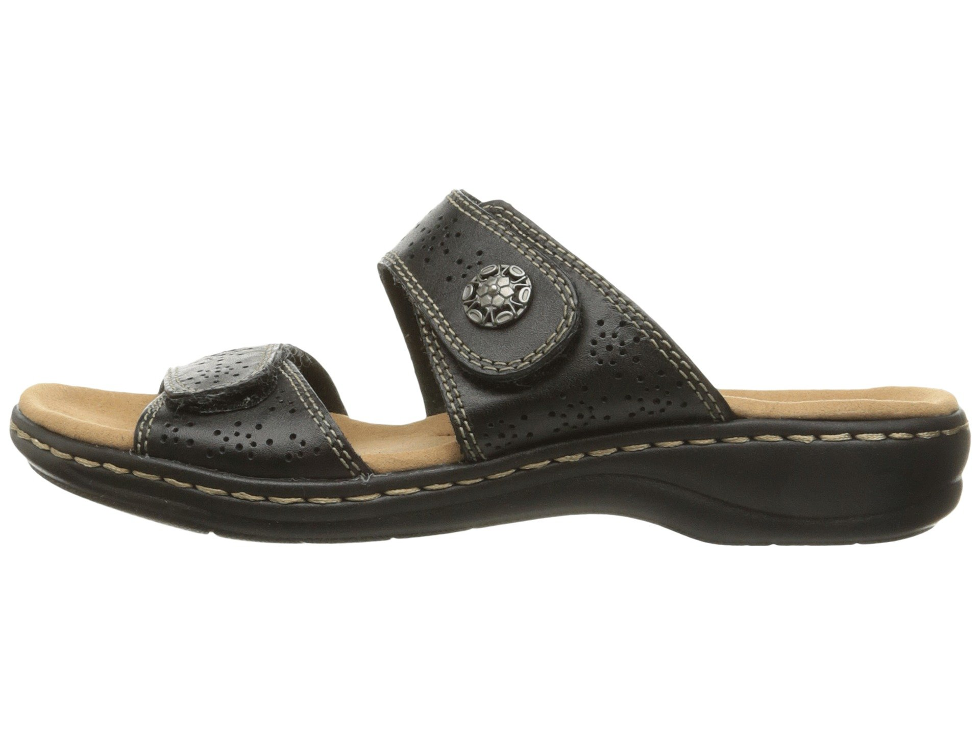 Clarks Women S Leisa Lacole Slide Sandal Ebay