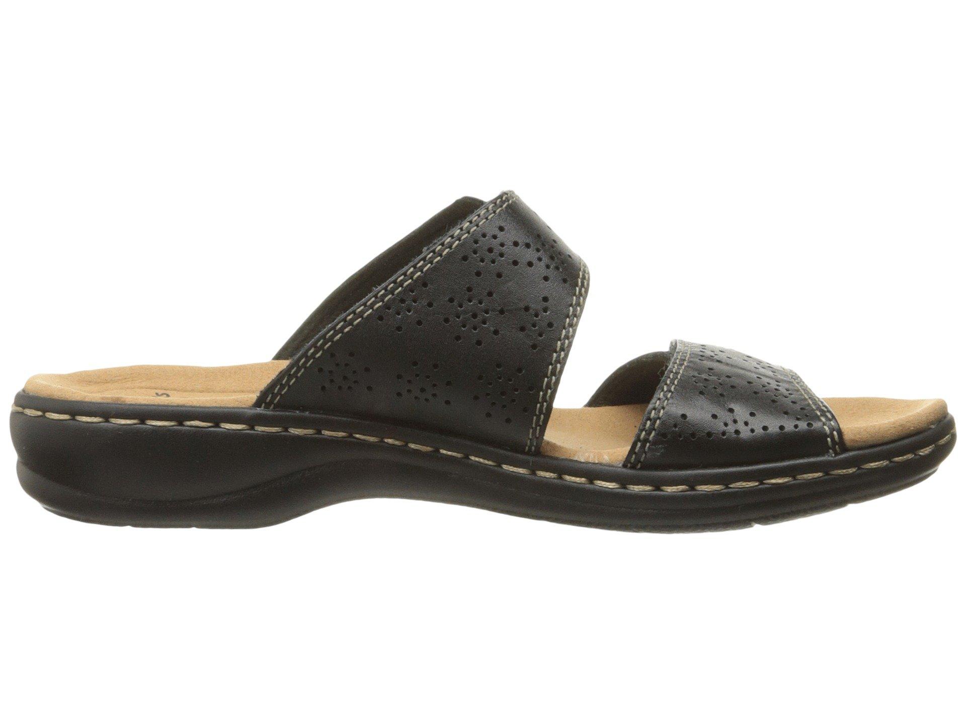 2cfd897c6e8e CLARKS-Women-039-s-Leisa-Lacole-Slide-Sandal thumbnail
