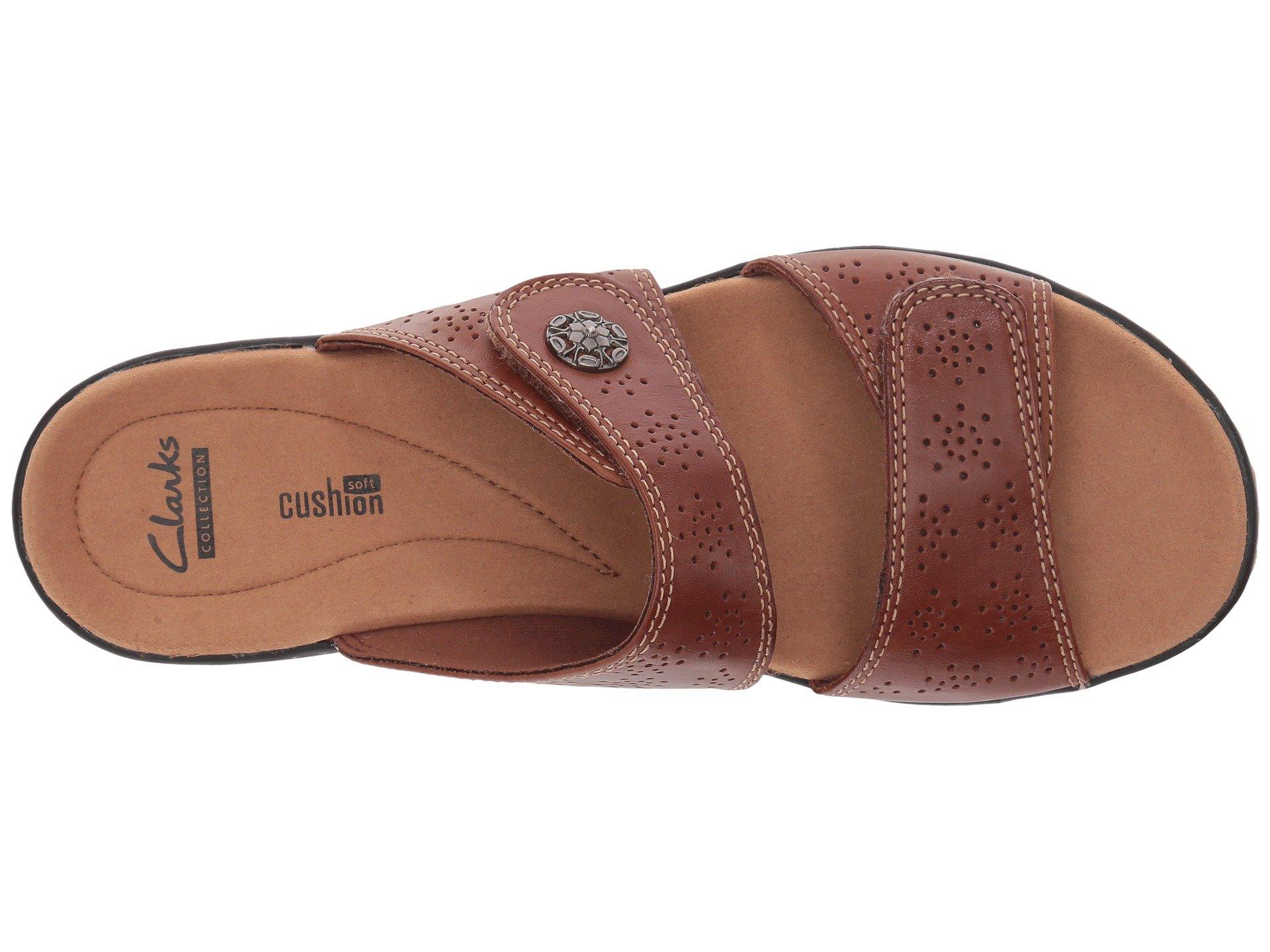 e915646e1 CLARKS-Women-039-s-Leisa-Lacole-Slide-Sandal thumbnail