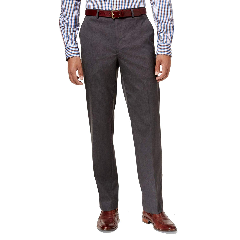 7d4ef842c927dd MICHAEL Michael Kors Mens Flat Front Solid Suit Separate Dress Pants ...