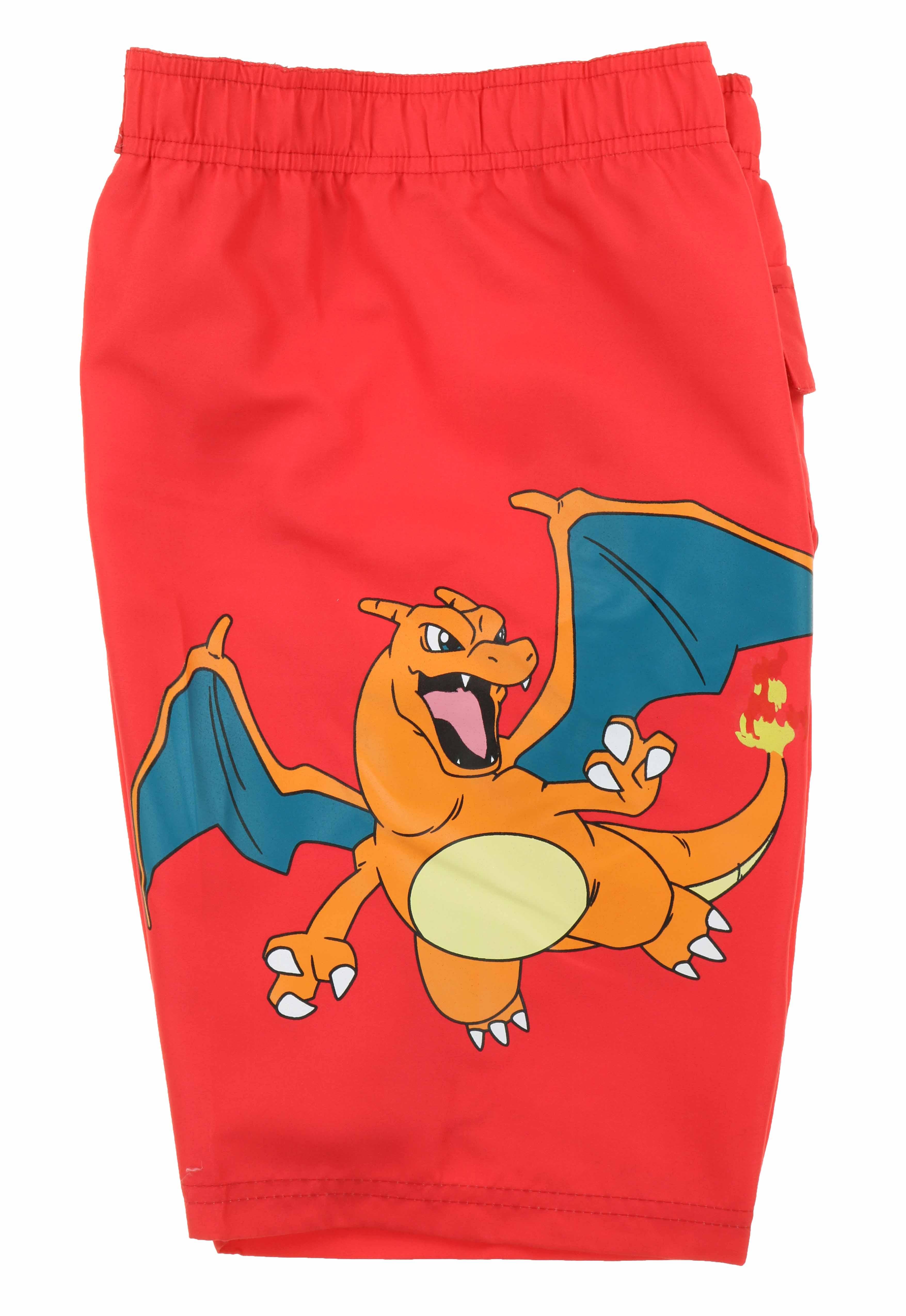 3621c7b4d7 InGear Boys Pokemon Swim Trunk Shorts-Pikachu,Charizard,Bulbasaur ...