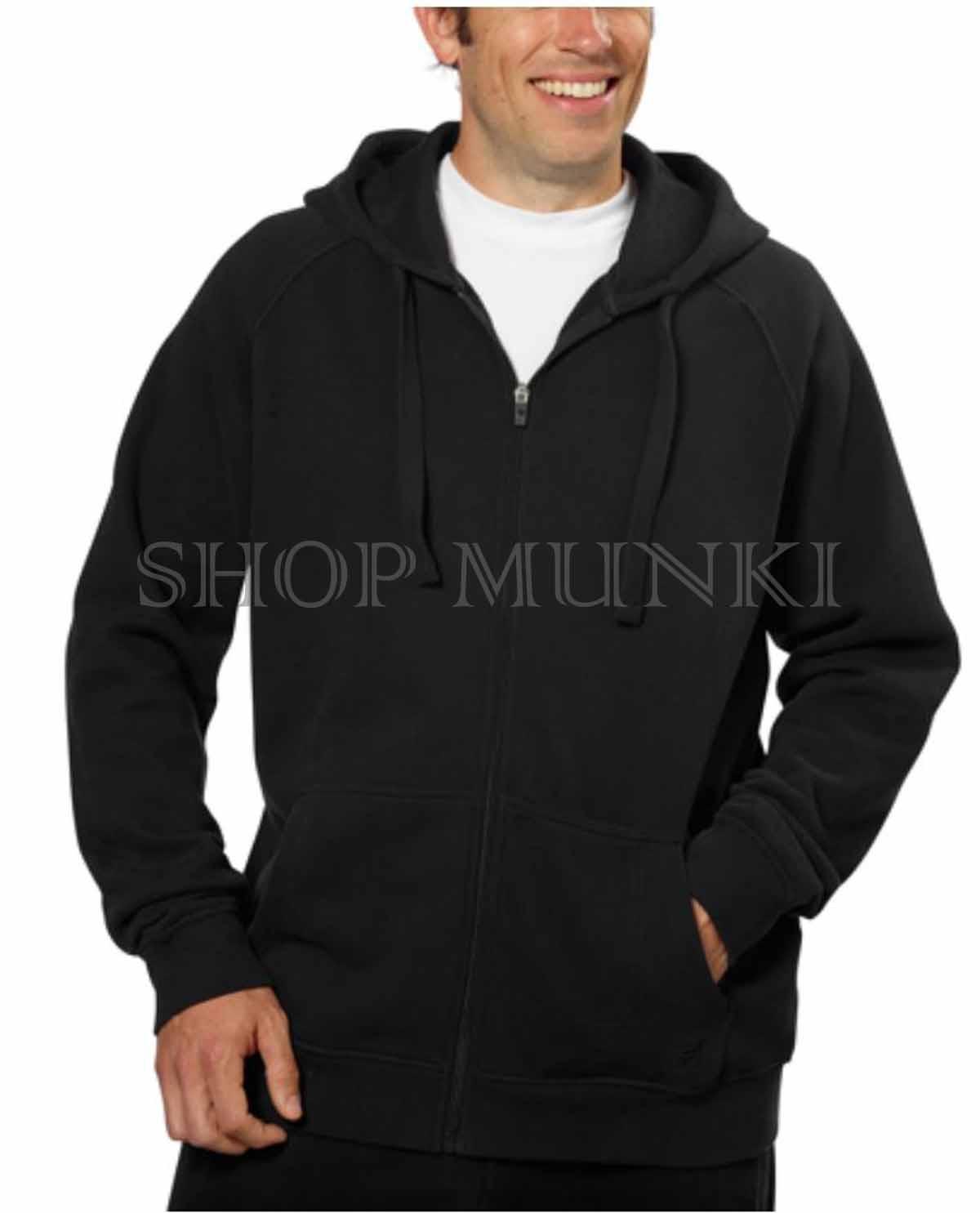 b02114b62e4f Fila Men s Full Zip Hooded Soft Fleece Sweatshirt Jacket with media ...