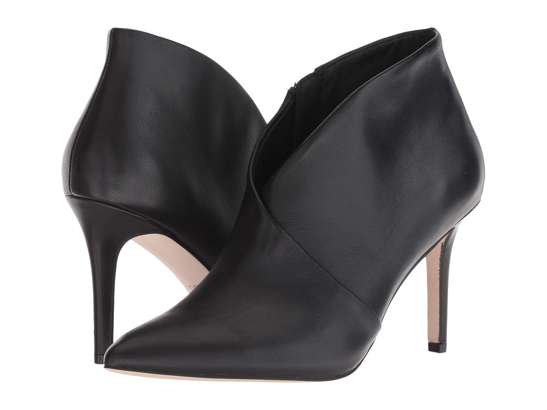 Jessica Simpson damen Layra Heeled V-Topline Leather Leather Leather Ankle Stiefelies 3f6dc2
